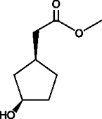 (1S,3R)-<wbr/>3-<wbr/>Hydroxycyclopentane acetic acid methyl ester