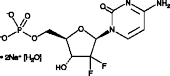 Gemcitabine monophosphate (sodium salt hydrate)