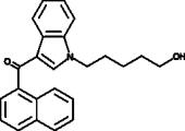 JWH 018 N-<wbr/>(5-<wbr/>hydroxypentyl) metabolite