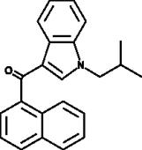 JWH 073 N-<wbr/>(2-<wbr/>methylpropyl) isomer