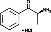 (−)-<wbr/>(S)-<wbr/>Cathinone (hydro<wbr>chloride) (exempt preparation)