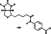 (+)-Biotin 4-Amidobenzoic Acid (sodium salt)
