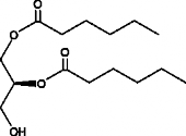 1,2-<wbr/>Dihexanoyl-<wbr/><em>sn</em>-<wbr/>glycerol