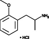 2-<wbr/>Methoxyamphetamine (hydro<wbr>chloride)