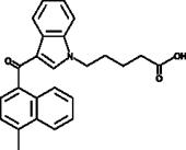 MAM2201 N-<wbr/>pentanoic acid metabolite