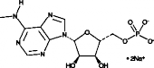 N<sup>6</sup>-Methyl<wbr/>adenosine 5'-monophos<wbr/>phate (sodium salt)