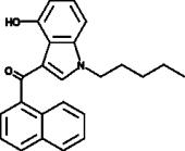 JWH 018 4-<wbr/>hydroxyindole metabolite