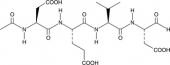 Ac-DEVD-CHO (trifluoroacetate salt)