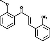 2-<wbr/>Trifluoromethyl-<wbr/>2'-<wbr/>methoxychalcone