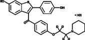 Raloxifene-d<sub>4</sub> (hydro<wbr/>chloride)
