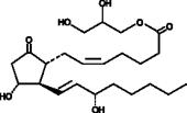 Prostaglandin E<sub>2</sub>-<wbr/>1-<wbr/>glyceryl ester