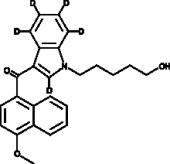 JWH 081 N-<wbr/>(5-<wbr/>hydroxypentyl) metabolite-<wbr/>d<sub>5</sub>