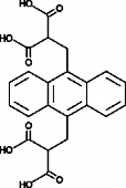 9,10-Anthra<wbr/>cenediyl-<em>bis</em><wbr/>(methylene)<wbr/>dimalonic Acid