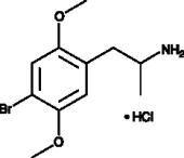 4-<wbr/>bromo-<wbr/>2,5-<wbr/>DMA (hydro<wbr>chloride)