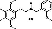 25G-<wbr/>NBOMe (hydro<wbr>chloride)
