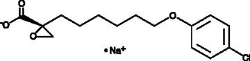 (+)-<wbr/>Etomoxir (sodium salt)