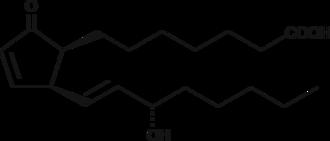 8-<wbr/><em>iso</em> Prostaglandin A<sub>1</sub>