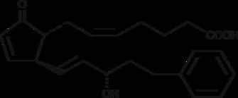 17-<wbr/>phenyl trinor Prostaglandin A<sub>2</sub>