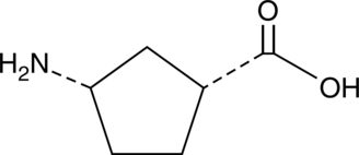 (1R,3S)-<wbr/>3-<wbr/>Aminocyclopentane carboxylic acid