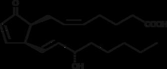 8-<wbr/><em>iso</em> Prostaglandin A<sub>2</sub>