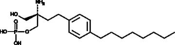 FTY720 (S)-<wbr/>Phosphate