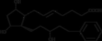 5-<wbr/><em>trans</em> Latanoprost (free acid)