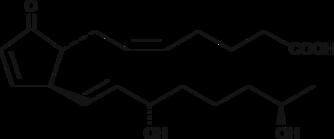 19(R)-<wbr/>hydroxy Prostaglandin A<sub>2</sub>