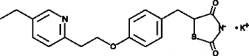 Pioglitazone (potassium salt)