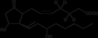 Prostaglandin E<sub>2</sub>-<wbr/>d<sub>4</sub>