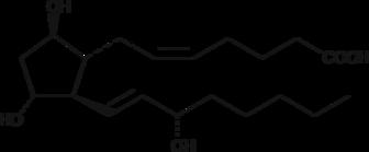 Prostaglandin F<sub>2β</sub>