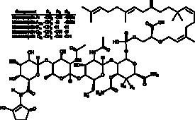 Moenomycin Complex
