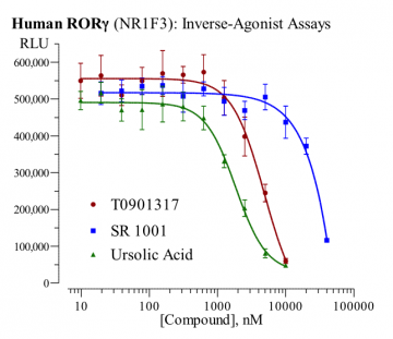 Human RORγ Reporter Assay System, 3 x 32 assays in 96-well format