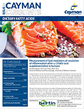 Dietary Fatty Acids Current Cayman Bertin Bioreagent